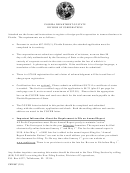 Cover Letter/application By Foreign Corporation For Authorization To Transact Business In Florida