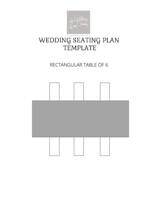 Wedding Sitting Plan