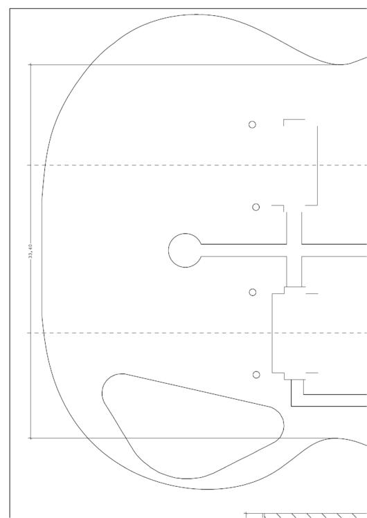 Guitar Construction Templates