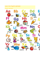 Learn The English Alphabet Template