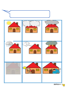 The Weather Flash Card Template
