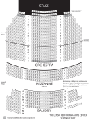The Lensic Performing Arts Center Seating Chart
