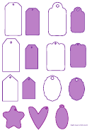 Tag Template (purple)