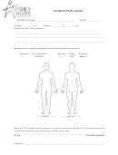 Patient Pain Chart Template