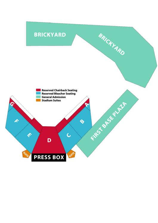 Rhoads Stadium Seating Chart Printable pdf