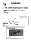 Banking Information Form - Va San Diego Healthcare System