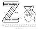 Sign Language Letter - Z