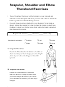 Scapular Shoulder And Elbow Theraband Exercises - Spanish