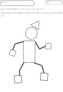 Shape Coloring Worksheet