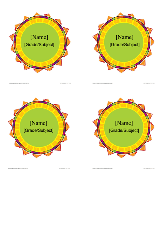 Fillable Name/grade Medal Template Printable pdf