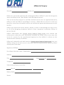 Affidavit Of Forgery