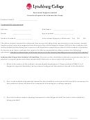 Esa Provider Request For Information Form - Lynchburg College