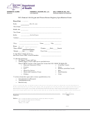 Enrollment Form - New York State Department Of Health