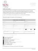 Complaint Form - Lake Area Technical Institute