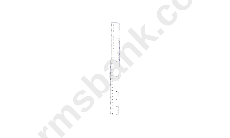 Nice Ruler Template Inches Images Gallery >> Printable Ruler Actual ...