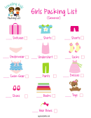 Girls Packing List