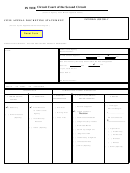 Civil Appeal Docketing Statement Template