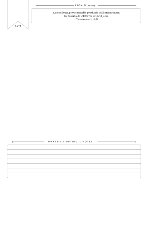 prayer journal template printable pdf download