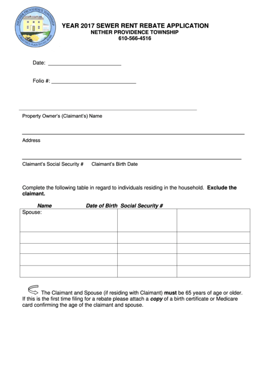Top Rent Rebate Form Templates free to download in PDF format
