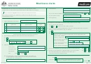 Medicare Claim Form - Green