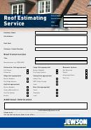 Roof Estimation Service
