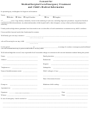 Consent For Medical/surgical Care/emergency Treatment And Child's Medical Information