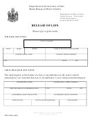 Release Of Lien