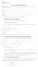 Homestead Exemption Affidavit
