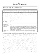 Form K-1 - Proposal Letter Of Credit/form K-2 - Financial Close Letter Of Credit