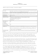 Form K-1 - Proposal Letter Of Credit