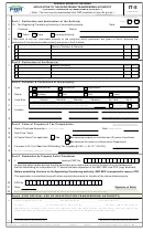 Application To The Registering/transferring Authority
