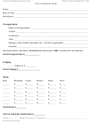 Travel Expense Form
