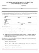 Net Tangible Benefit Worksheet Template