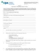 Form 3 - Application For New Public Practice Licence