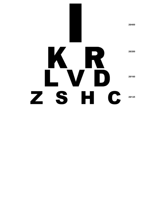 20 Eye Charts Free To Download In Pdf