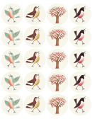 Birds/trees Template