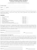 Student Acceptable Use Contract