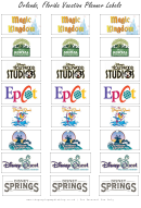 Orlando, Walt Disney World Vacation Planner