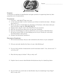 Dichotomous Key Lab Report Template