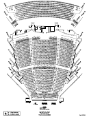 Seating Chart Symphony Hall - Phoenix