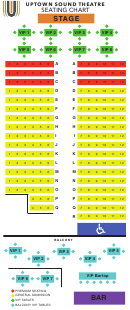 View Seating Chart - Uptown Sound Studio Marble Falls