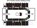 Arena Seating Map - Rodeo Austin