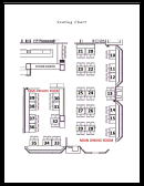 Seating Chart - Bann Restaurant