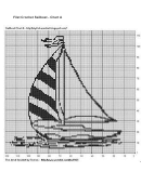 Filet Crochet Sailboat - Chart A - Knitting Paradise