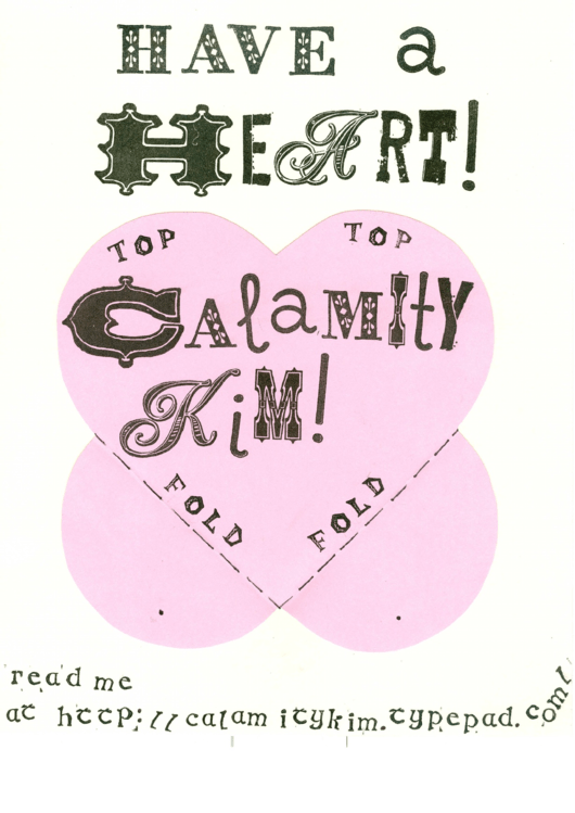 Have A Heart! Valentine Card Template Printable pdf