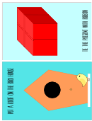 Bird And Gift Template For Kids