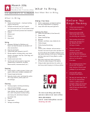 Move-in - Moving Checklist