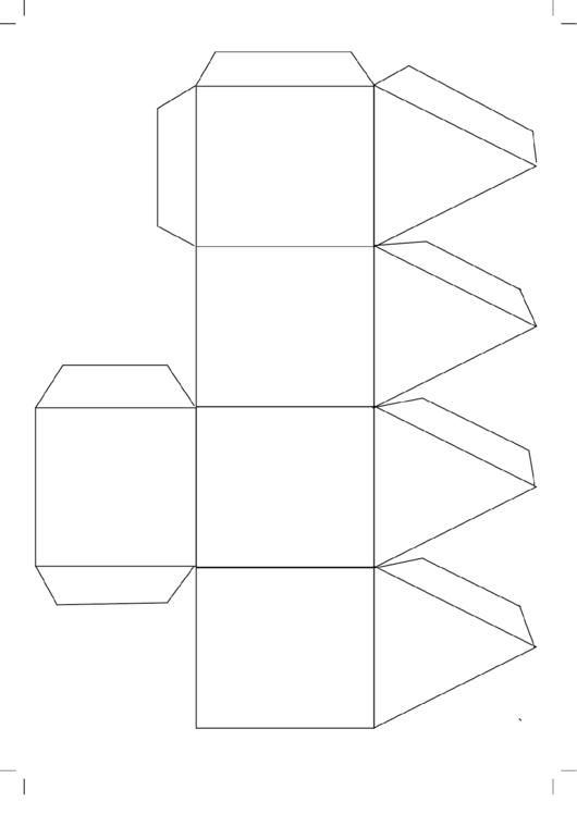 Foldable Paper Dreidel Template