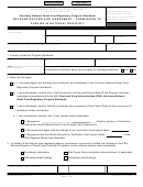 Form Fda 3520 - Release Record And Agreement - Permission To Publish In National Registry