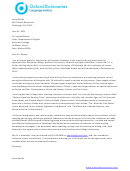 Associate Professor Cover Letter Template